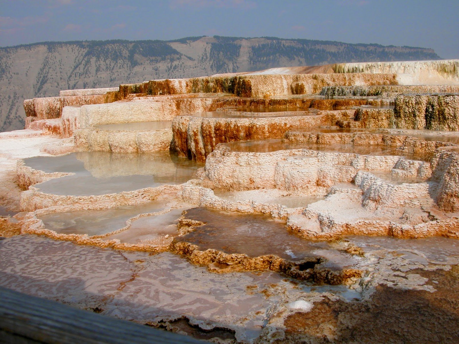 Mammoth Hot Springs at Yellowstone National Park                                                                             Image Source:http://bit.ly/1yHWqs2