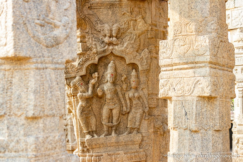 Stories in stone at Lepakshi