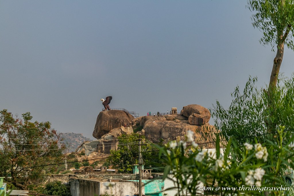 Jatayu View Point in Lepakshi