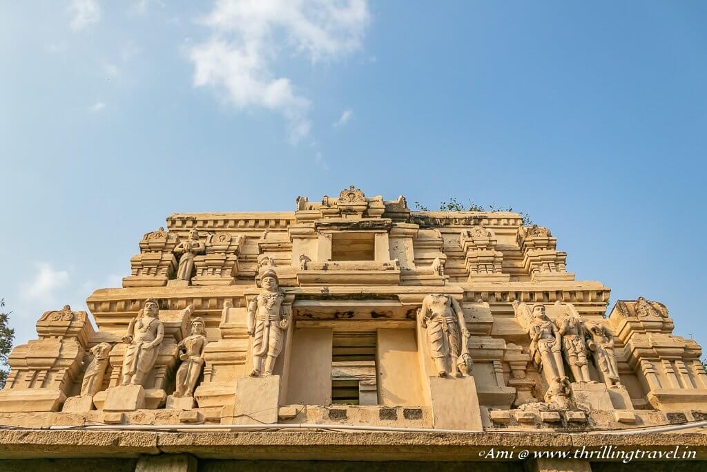 Gopuram of Lepakshi Temple