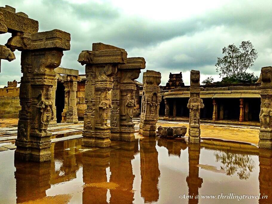 Open Air Kalyana Mantappa of Lepakshi