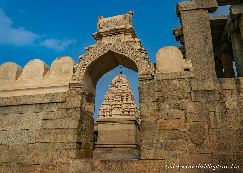 16th century Veerabhadra Temple of Lepakshi