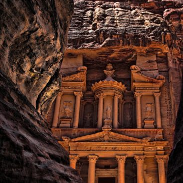 Behold the Rose Red Walls of Petra
