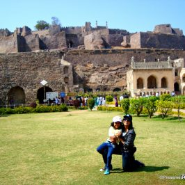 At Golconda Fort