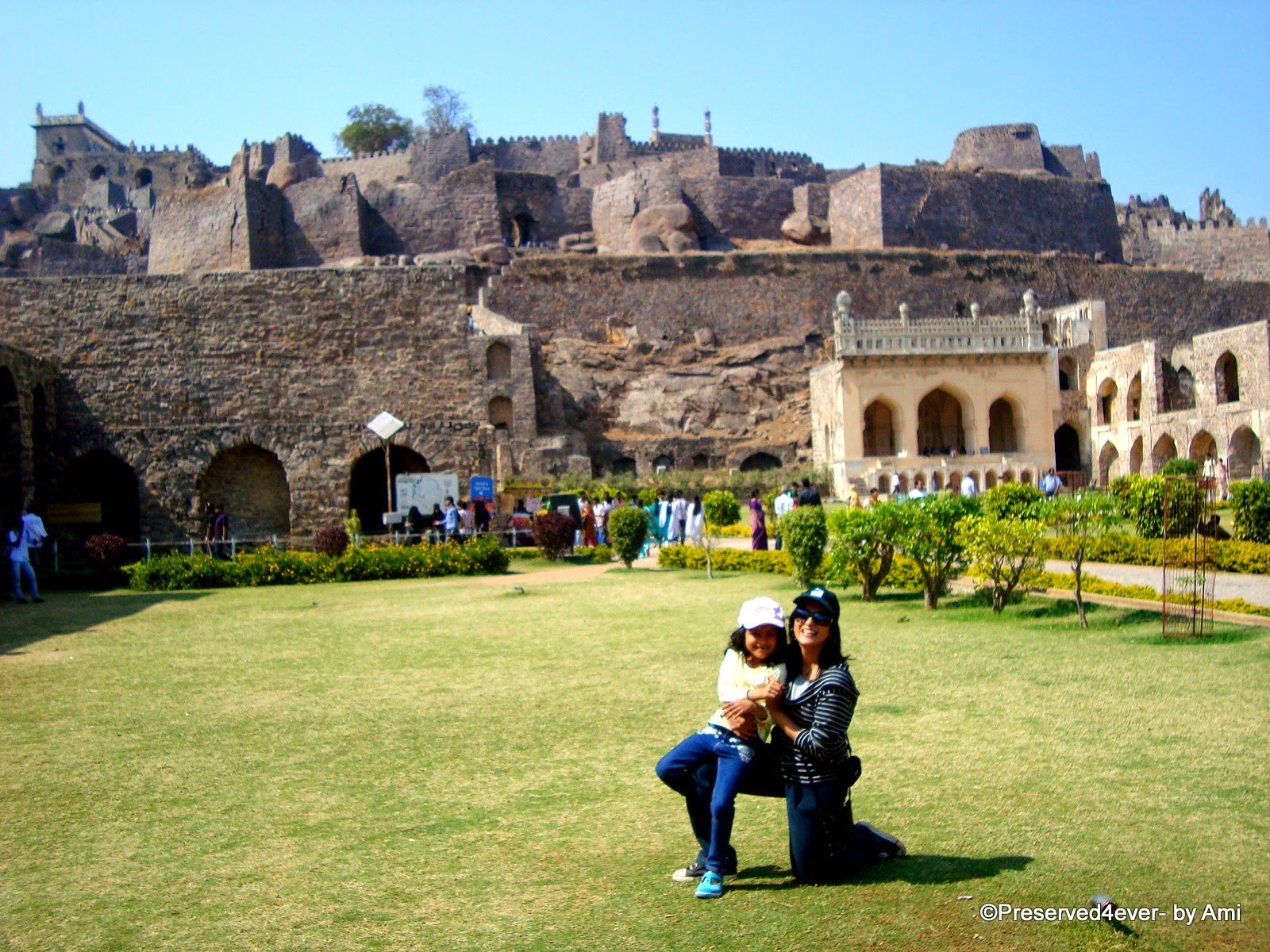 At Golconda Fort, Hyderabad