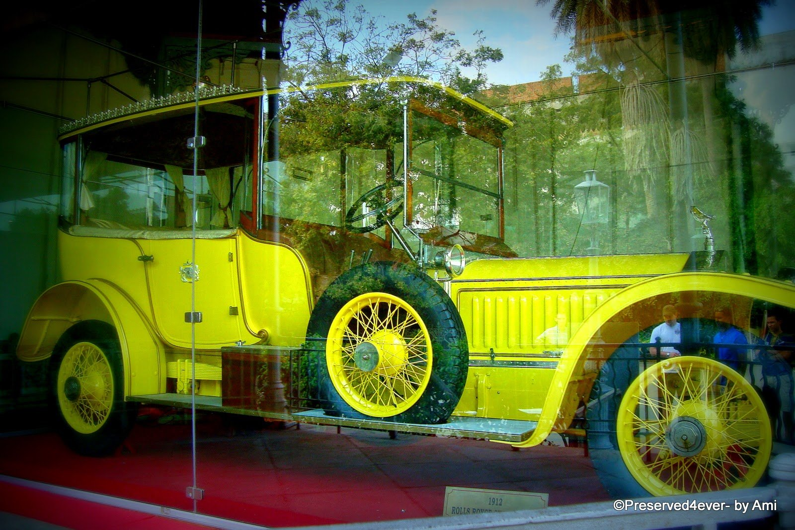 Rolls Royce from the Nizam's collection, Chowmahalla Palace, Hyderabad
