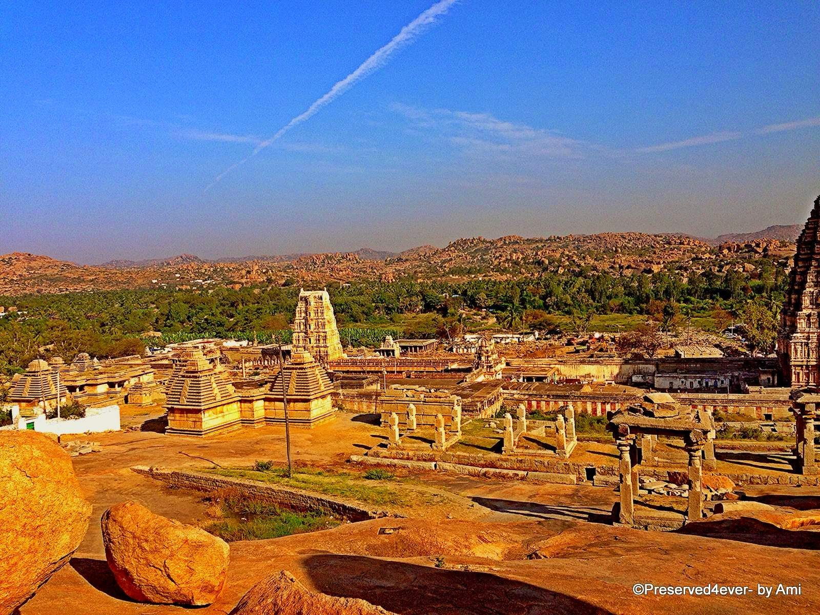 Ancient town of Hampi