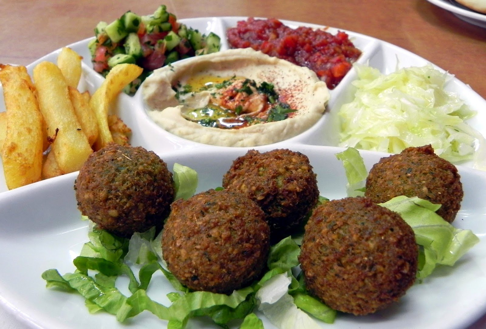 Falafel - A culinary tour of Dubai