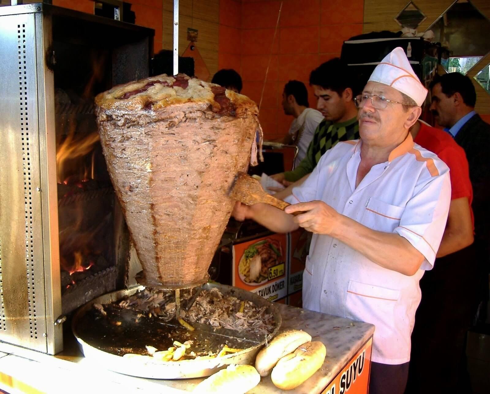 Shawarma - Culinary tour of Dubai