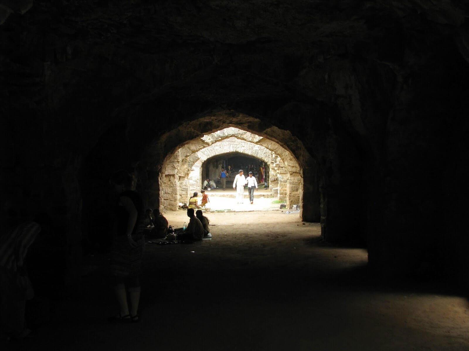 Underground Barracks                                Image Source: