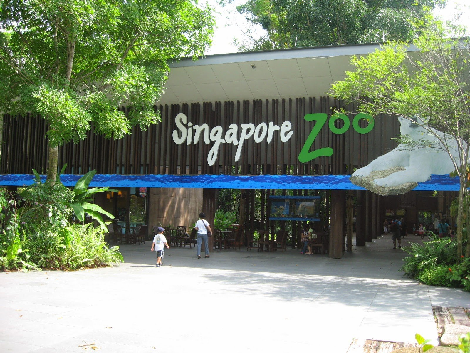 Singapore Zoo                                                                   Image Source: