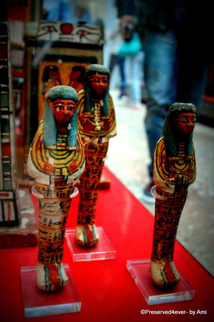 Shabtis at the British Museum