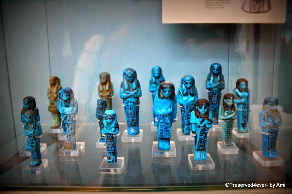 Another Set of Shabtis at the British Museum