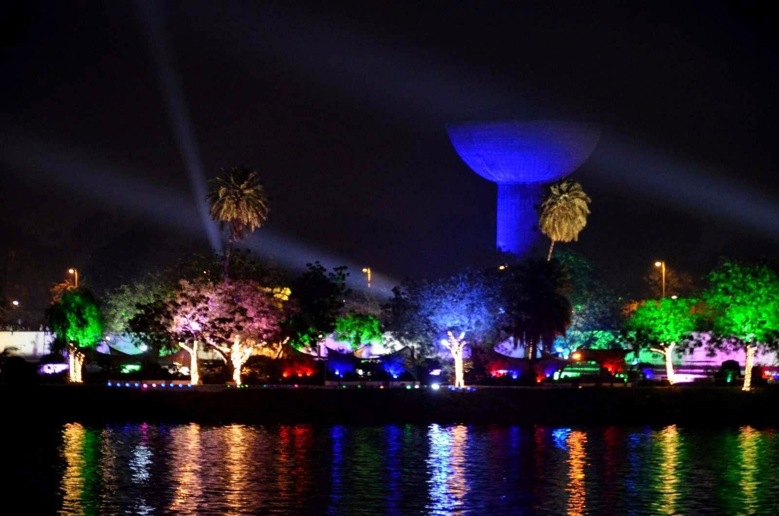 Kankaria lake at night                                            Image Credits:By Mahargh Shah
