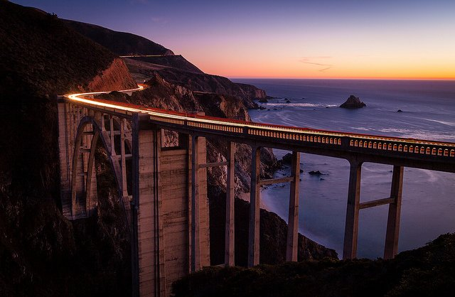 Bixby Bridge                                                                                                  Image Credits: Chris James