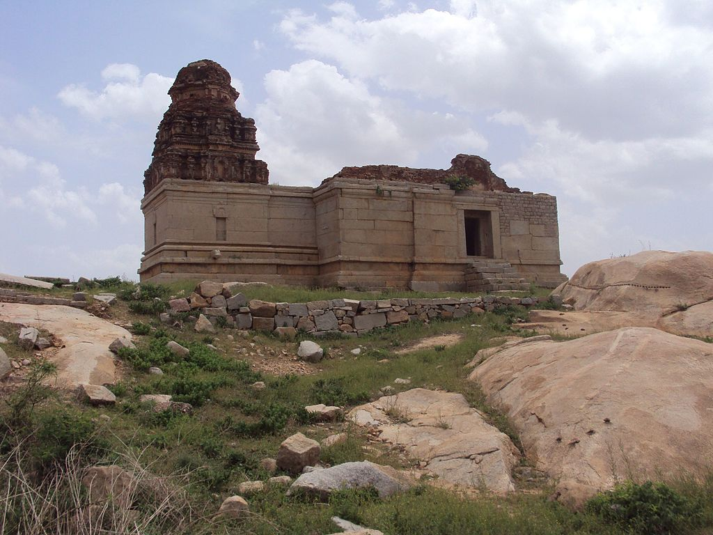 Saraswati temple in Hampi