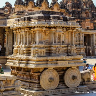 Hampi – Route Two from Vittala Temple