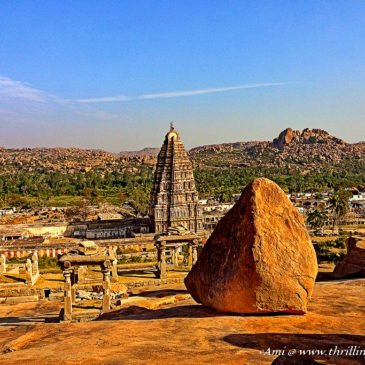 Hampi – Trail one leading to Virupaksha Temple