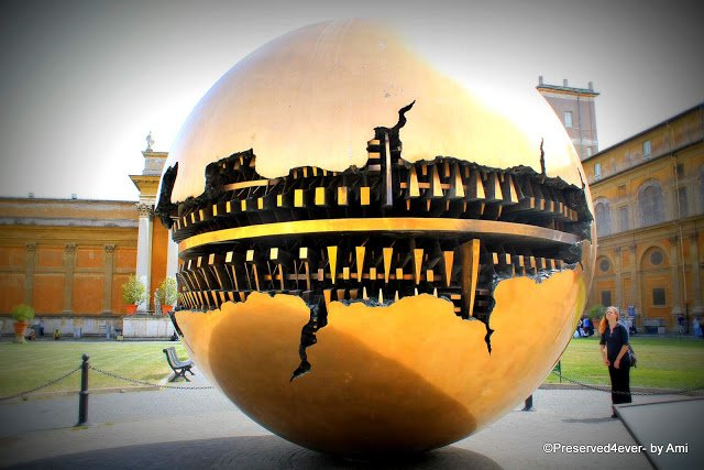 Sphere within Sphere at the Vatican Museum