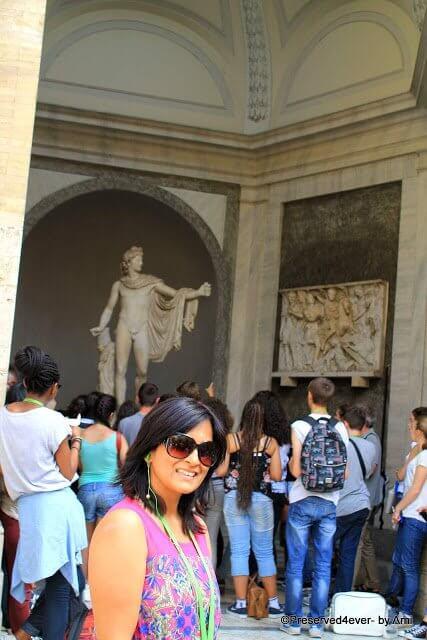 Statue of Apollo Belvedere, Vatican Museum