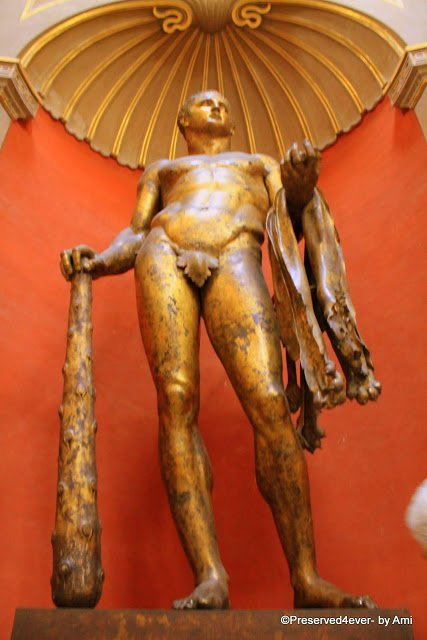Bronze Statue of Apollo, Vatican Museum