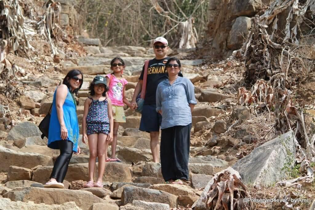 Climbing up the Kurumgad Island, Karwar