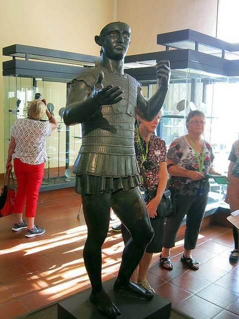 Bronze statue of Mars of Todi Image, Vatican Museum