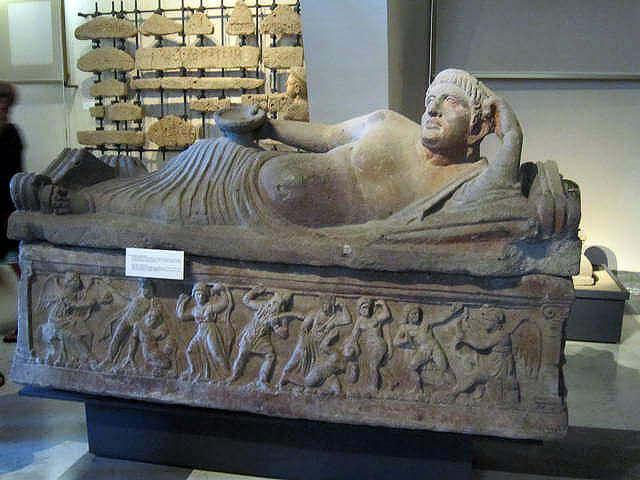 Etruscan Sarcophagus, Vatican Museum