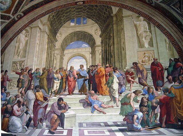 Stanza Dela Segnatura , Vatican Museum                                        Image Credits: Xiquinho