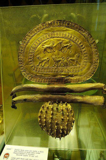 Etruscan Gold Neckpiece, Vatican Museum