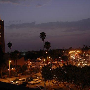 Magic of Marrakech in Morocco
