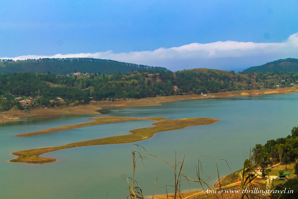 Umiam Lake in Shillong, Meghalaya