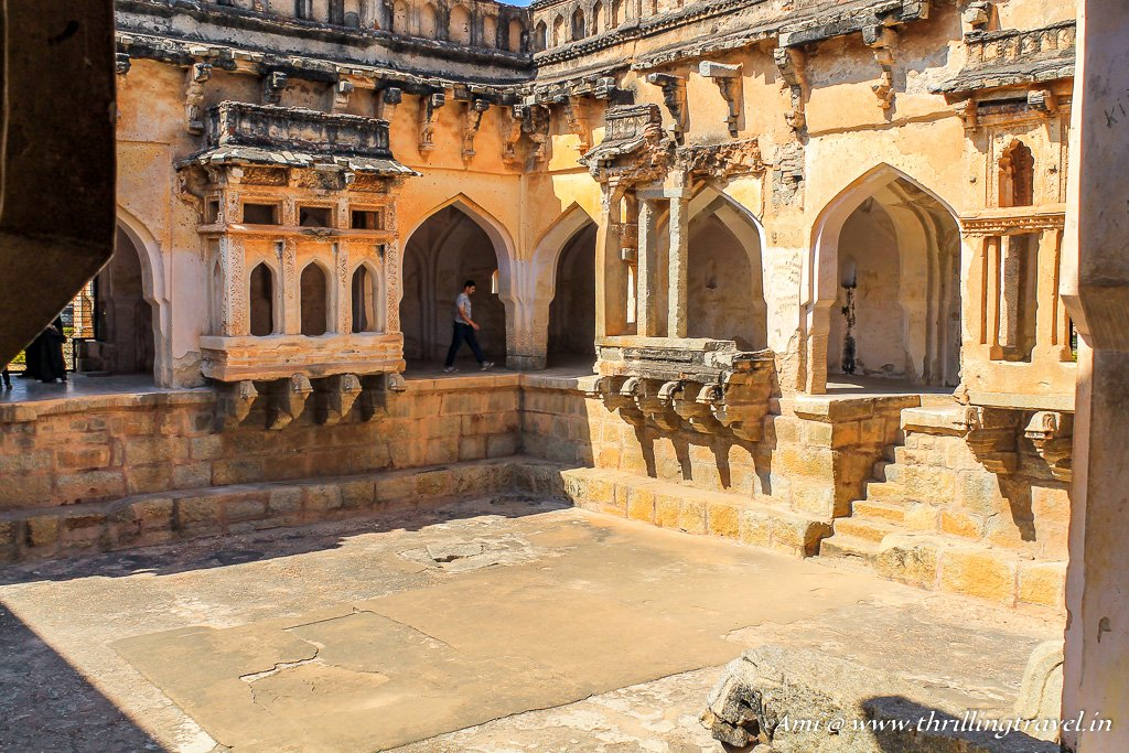 Queen's bath in Hampi -  an important place to visit in Hampi