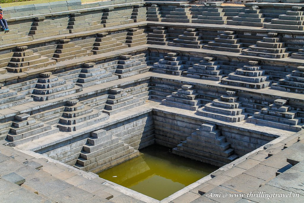 Stepwell in Hampi