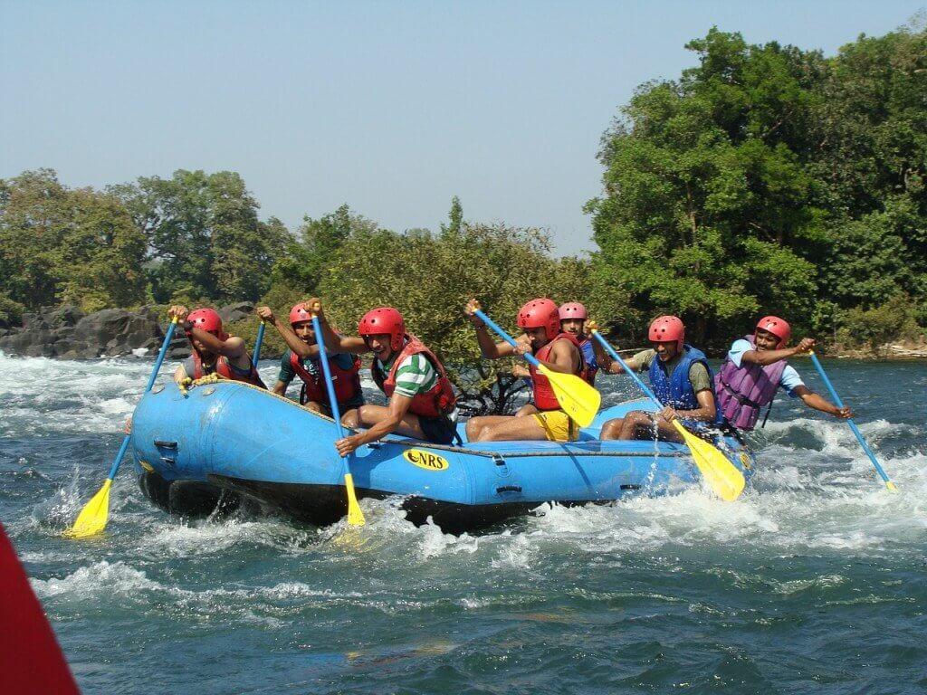 River Rafting at Dandeli. Image Credits: Sarangib