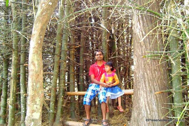At the Kurvadweep, Wayanad