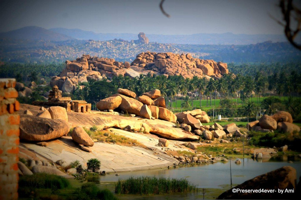 Landscape from the Malyavantha Hills, Hampi