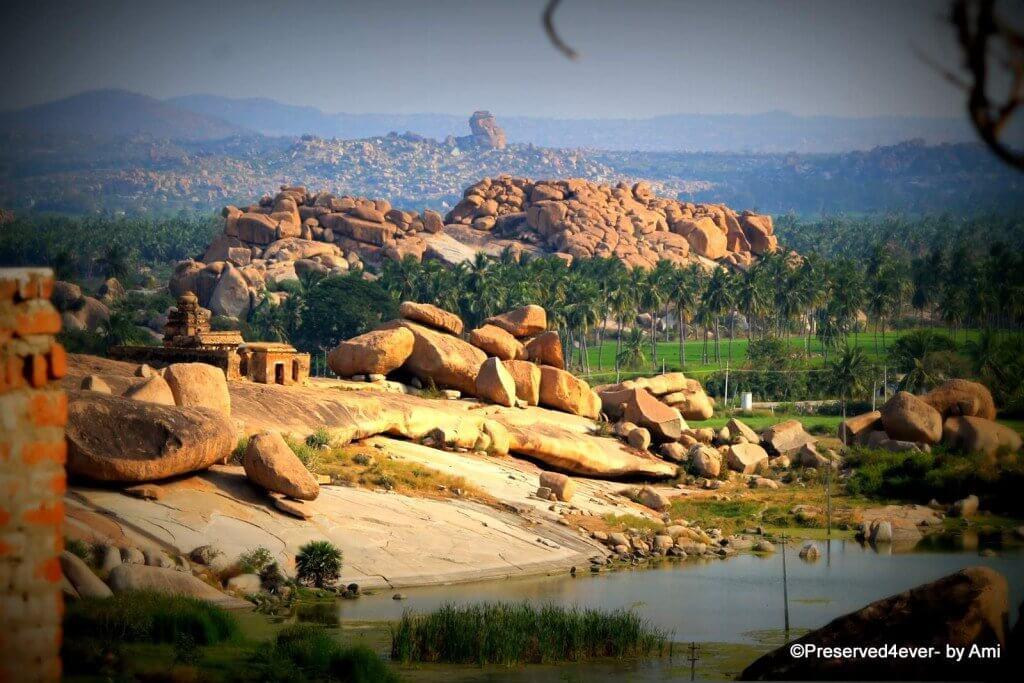 Landscape from the Malyavantha Hills, Hampi