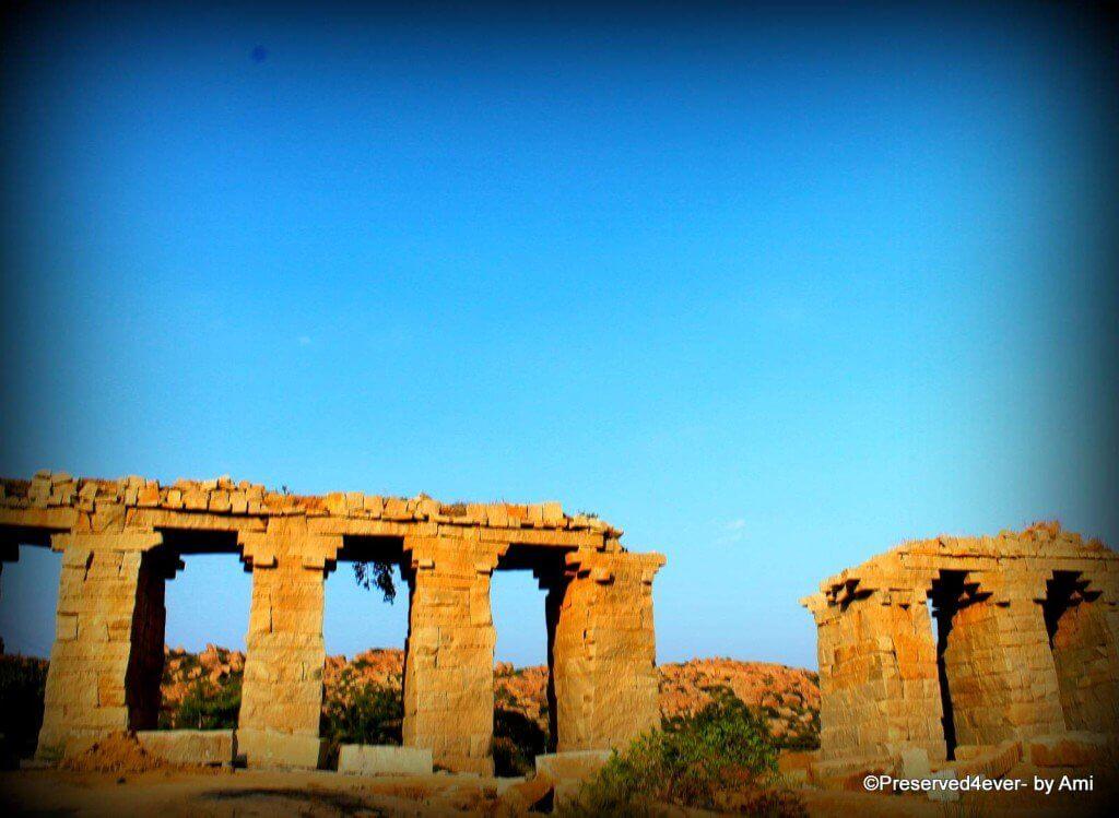 Bukka's Aqueduct in Hampi