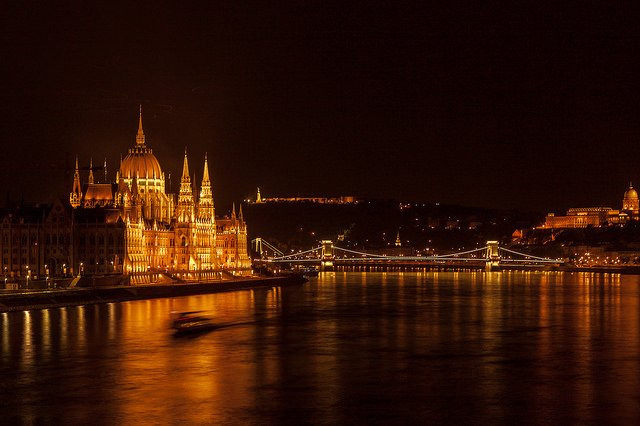 Budapest at Night                                                                                                                      Image Credits: ZSoolt Under CC by NC 2.0