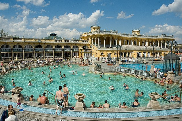 Szechenyi Bath                                                                                                        Image Credits: John Van Hulsen under CC by NC ND 2.0