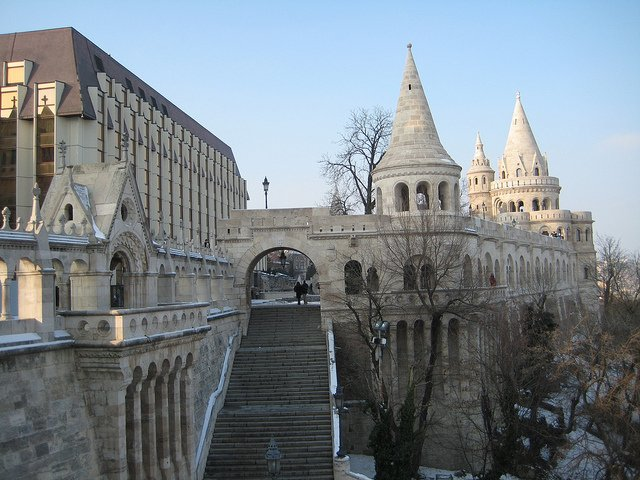 Fisherman's Bastion                                                                                                             Image Credits:B10m under CC by NC-ND 2.0