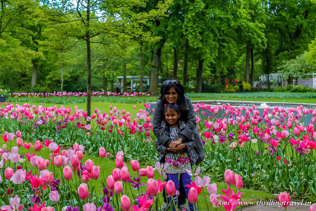 Us at Keukenhof