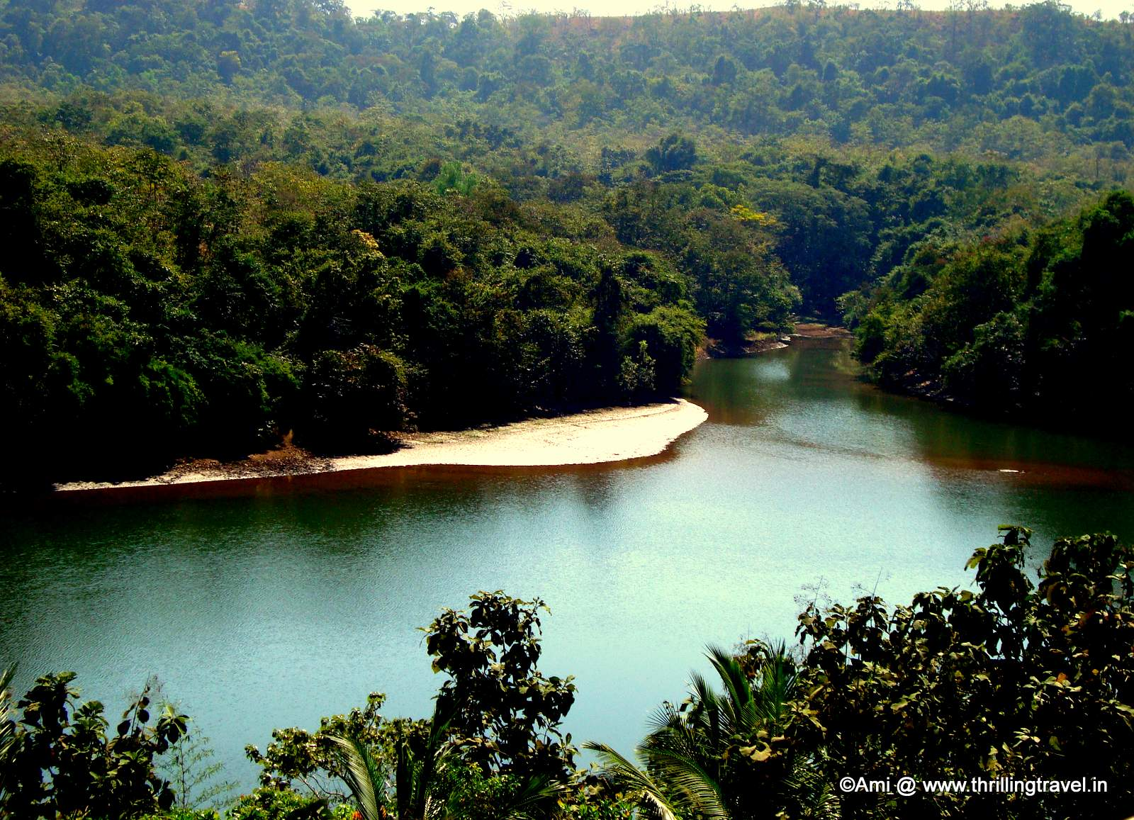 View of the Kundalika River, Kolad