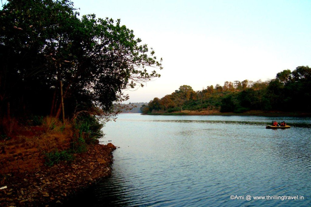 Boating on the Kundalika River, Kolad