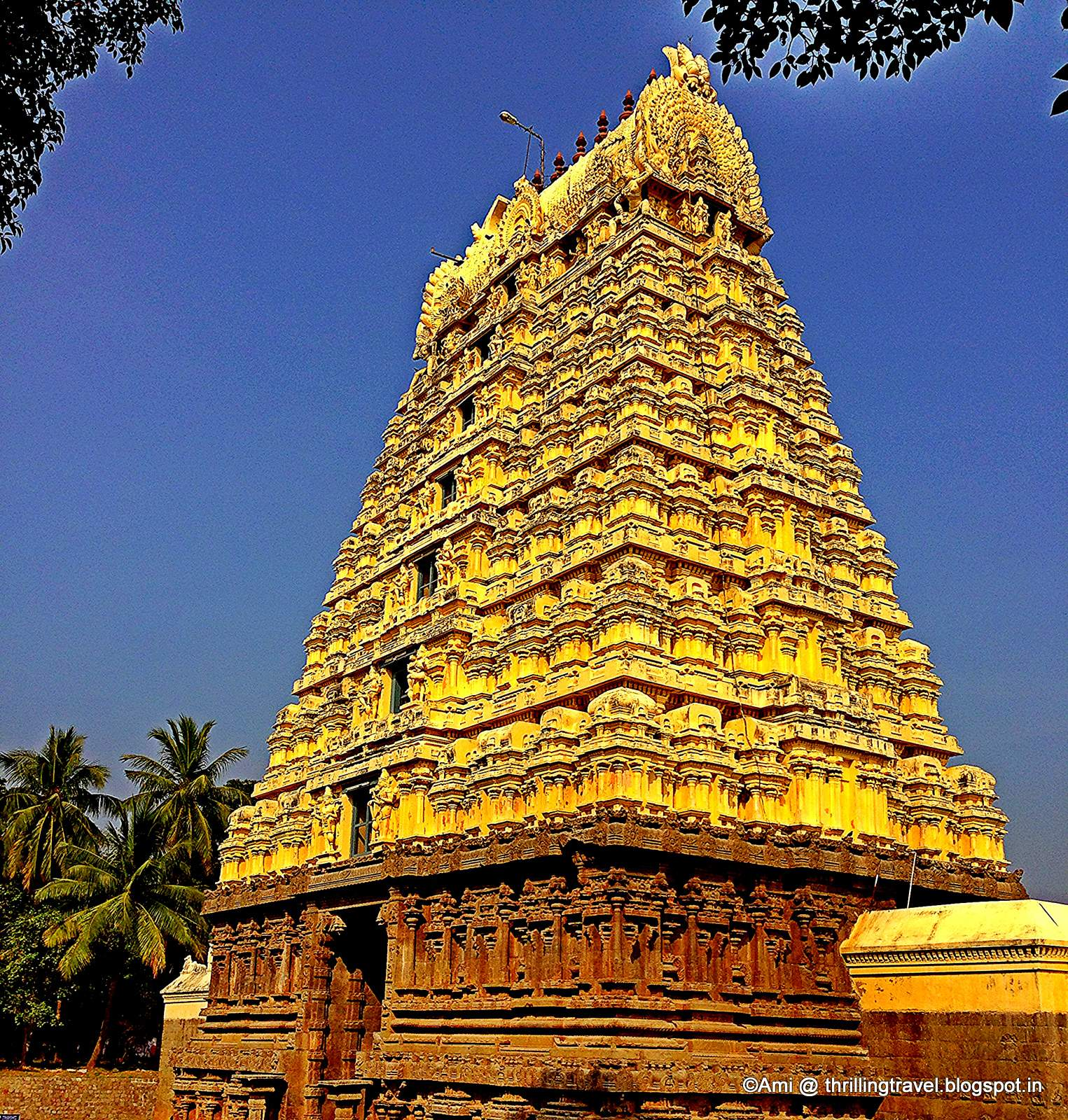 Temple at Vellore Fort