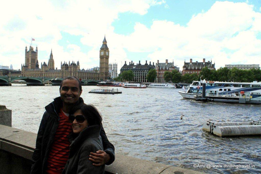 Big Ben in the background, London