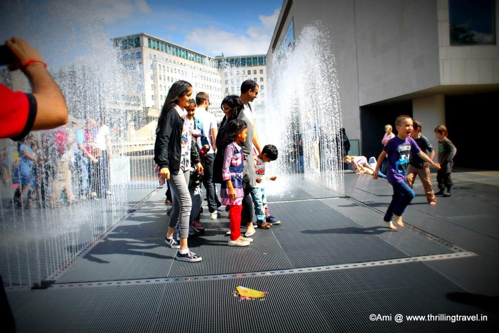Fountain Maze, South Bank in London