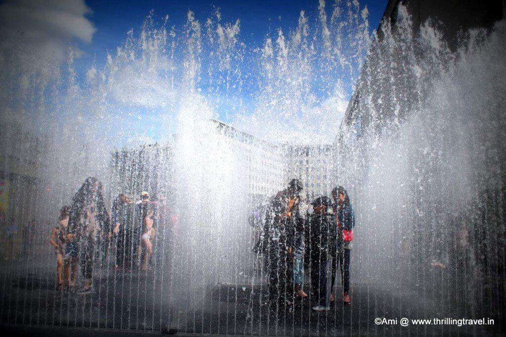 Fountain Maze, South Bank in London