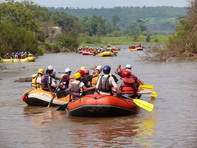 River Rafting in Kundalika River Image Credits: Himanshu Sarpotdar under CC by NC-ND 2.0